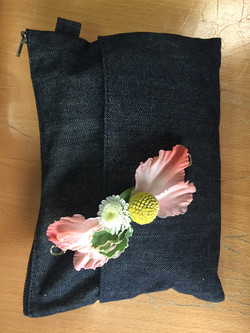 barrette fleurie