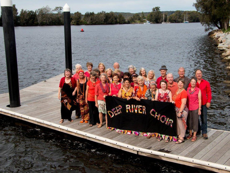 The Deep River Choir Performance At South Durras Community Hall Sept 8th