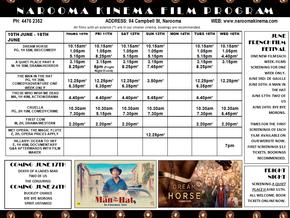 Narooma Kinema program June 10th to 16th