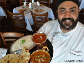 Kholi's in the Bay - finalists in Awards for Excellence in Restaurant and Catering