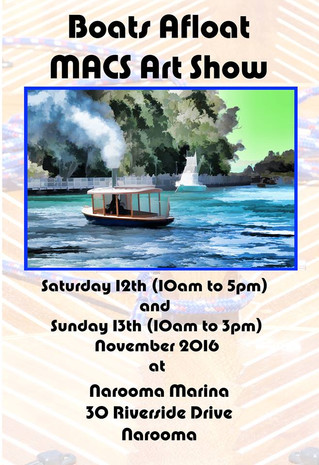 Narooma Boats Afloat Exhibition - Nov 12th and 13th