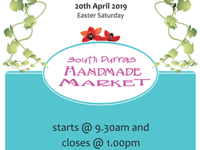 South Durras Handmade Market Sat Apr 20th