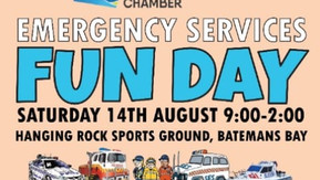 POSTPONED: Inaugural Batemans Bay Emergency Services Fun Day - Now August 14th