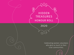 Bev Davis of Bodalla: 2020 Hidden Treasures Honour Roll recognises contribution through volunteering
