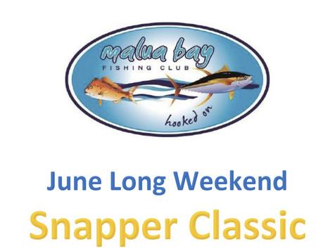 Club Malua Snapper Classic 12th and 13th June