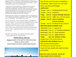 Tuross Golf News June
