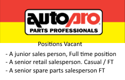 Positions Vacant - Sales - CLOSED