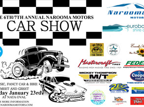 Narooma Car show Jan 23rd