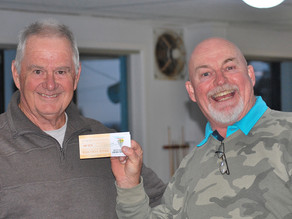 Chris Cox: Tuross Head Country Club stableford winner