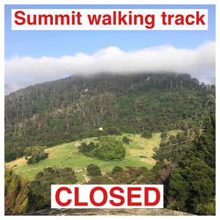 Mount Gulaga walking trail been closed indefinitely by the National Parks and Wildlife Service