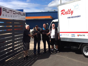 Rally for Recovery have a new truck