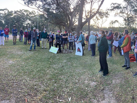 Broulee community not backing down to Council's ineptitude and failure to provide evidence