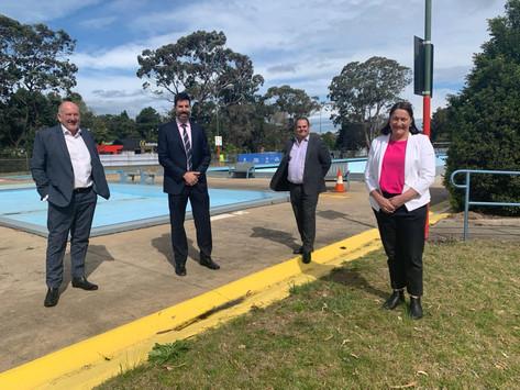 Construction begins on new aquatic, arts centre