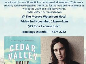 Moruya Books Literary Lunch : Holly Throsby Nov 2nd