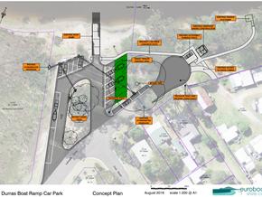 South Durras Lake Boat Ramp Carpark upgrade - revised plan