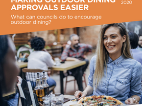 Making outdoor dining approvals easier in time for summer