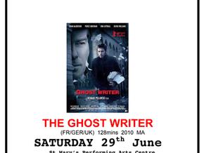 Moruya Film Group: The Ghost Writer June 29th
