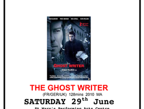 Moruya Film Group: The Ghost Writer June 29th