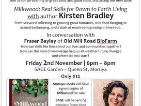 SAGE Presents: Kirsten Bradley