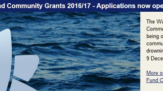 Water Safety grants available