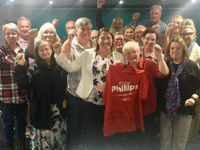Fiona Phillips wins Gilmore