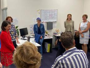 NSW Premier visits the region