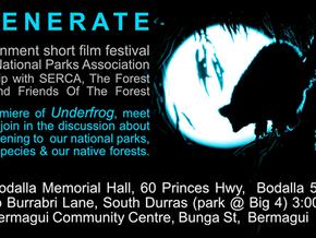REGENERATE, an environmental short film festival