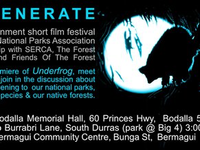 REGENERATE, an environmental short film festival