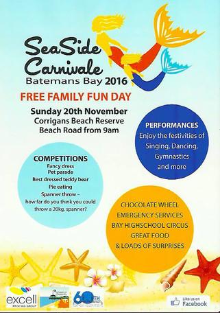 Seaside Carnivale - 20th Nov