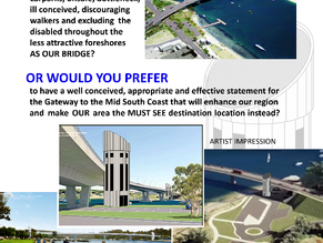 Batemans Bay bridge and CBD issues: Open Forum – Our Bridge and Our Future July 13th