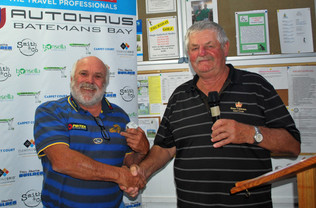 Peter Hogan scores a hole in one at Tuross