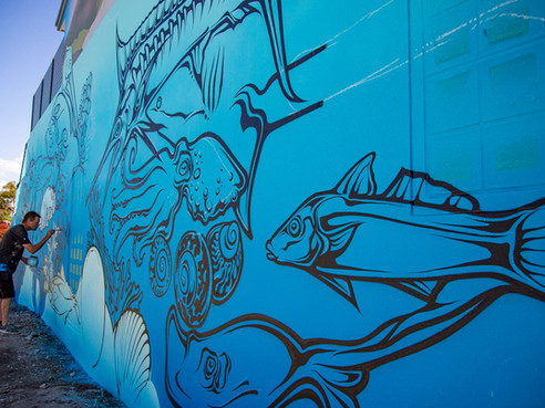River of Art REVIVE 2020 Murals now completed