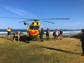 Westpac rescue at Tuross