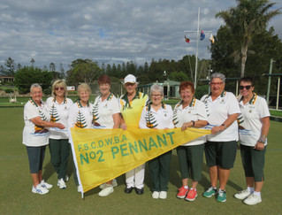 Tuross Women Pennant 2 Bowlers advance to the Regional final