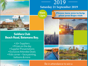 Travel Expo 2019 on Sept 21st