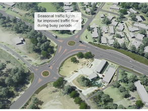 Traffic lights to be switched on at upgraded Kings and Princes Highway intersection: October 1st