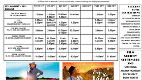 Narooma Kinema program Aug 12th to 18th
