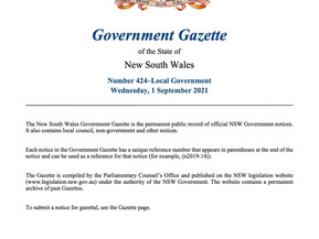 The Minister is getting serious on Wingecarribee