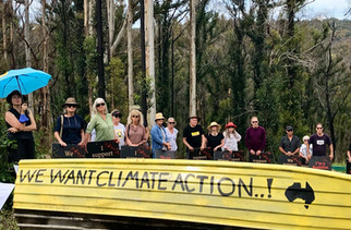 Climate Action' boat that survived 2019/2020 fires collected by National Museum of Australia