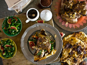 A perfect time for Sumac Chicken with Flatbread