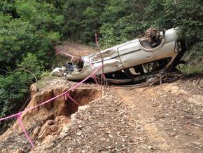 What happened to Wagonga Scenic Drive