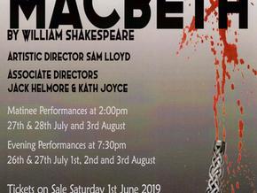 BTP Macbeth: Tickets now on sale
