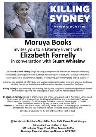 Elizabeth Farrelly : June 4th in Moruya