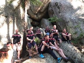 Batemans Bay Boars climb Mt Gulaga