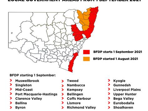Rural Fire Service declares start of Bush Fire Danger Period