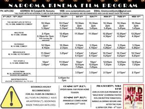 Narooma Kinema program July 4th to 10th