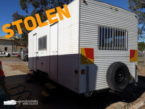 Eurobodalla Council Worksite Van STOLEN