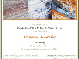 EFTAG's Next Exhibition: 'Connections to our Place'