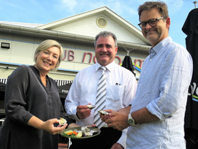 Support vital for Oyster Festival success
