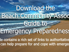 Long Beach Community Association Emergency Guide out NOW